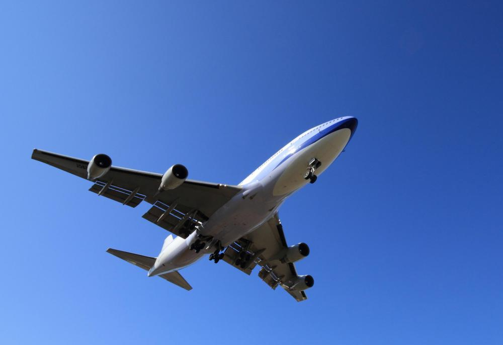 The Boeing 747 is one of the largest aircraft ever manufactured.