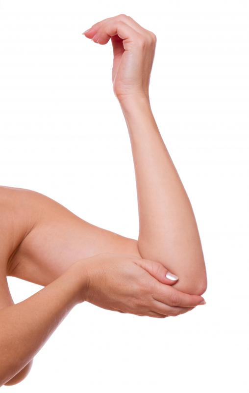 Tennis elbow refers to an injury associated with repetitive use of the elbow joint.