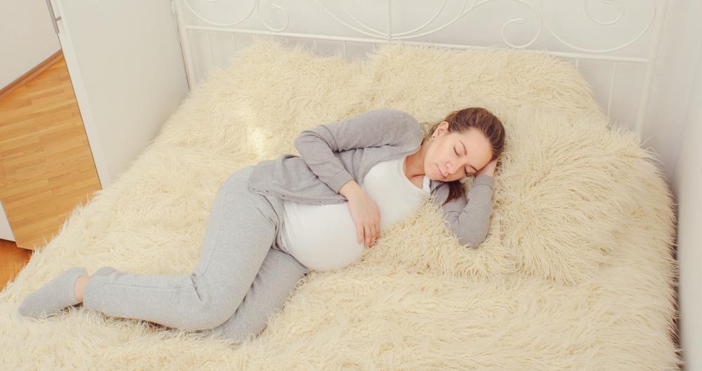 Bed rest is prescribed when placenta previa occurs in the third trimester.