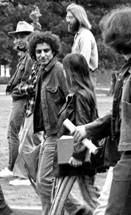 Abbie Hoffman was the founding member of the Yippies.