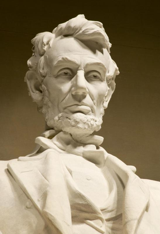 Abraham Lincoln is honored in the final verse of the state song of Illinois.