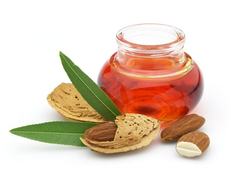 Almond oil is a popular ingredient in lip conditioners.
