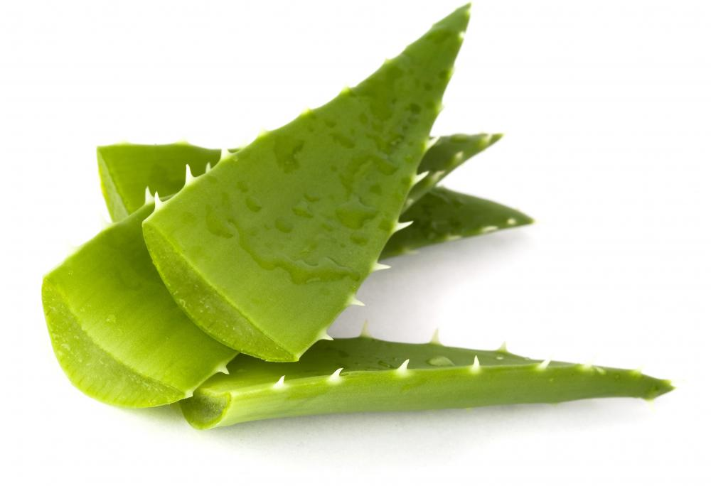 Aloe vera is commonly used to relieve heat rash.