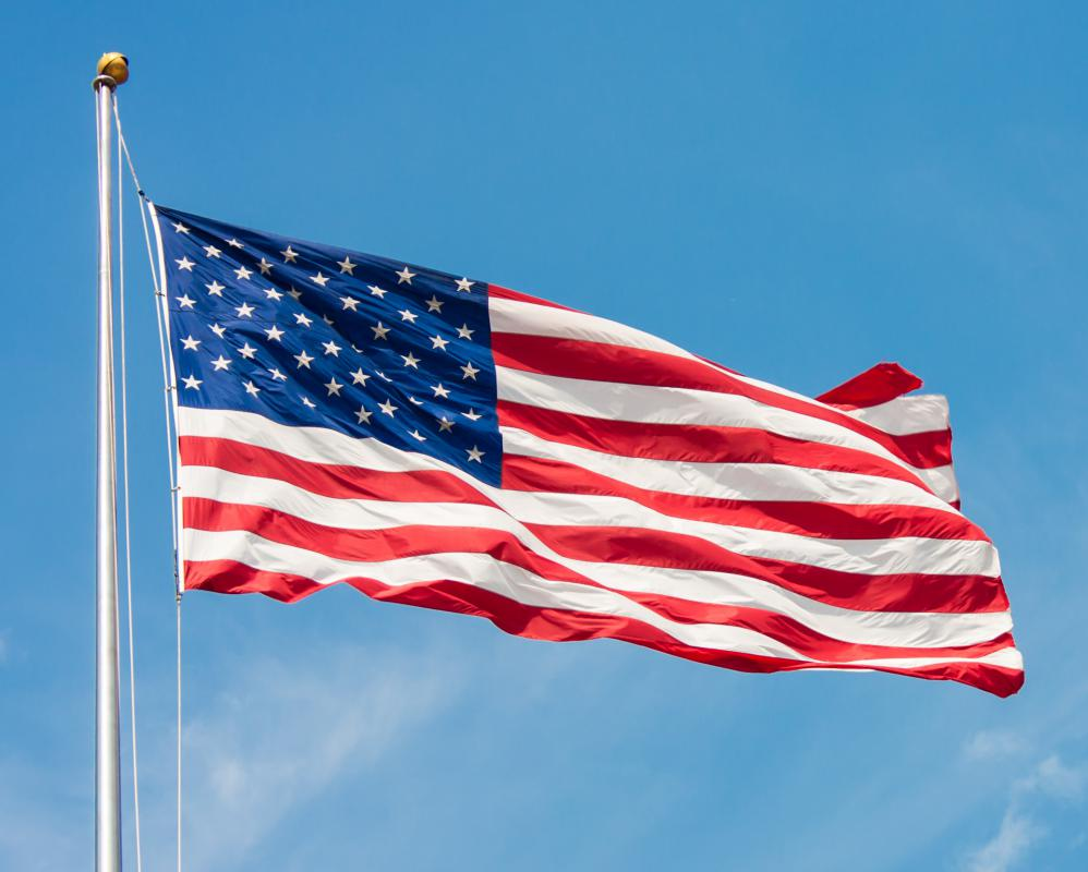 """The Star Spangled Banner"" is the national anthem of the United States."