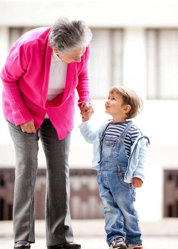 A child's mispronounciation might give a grandparent a new name for life.