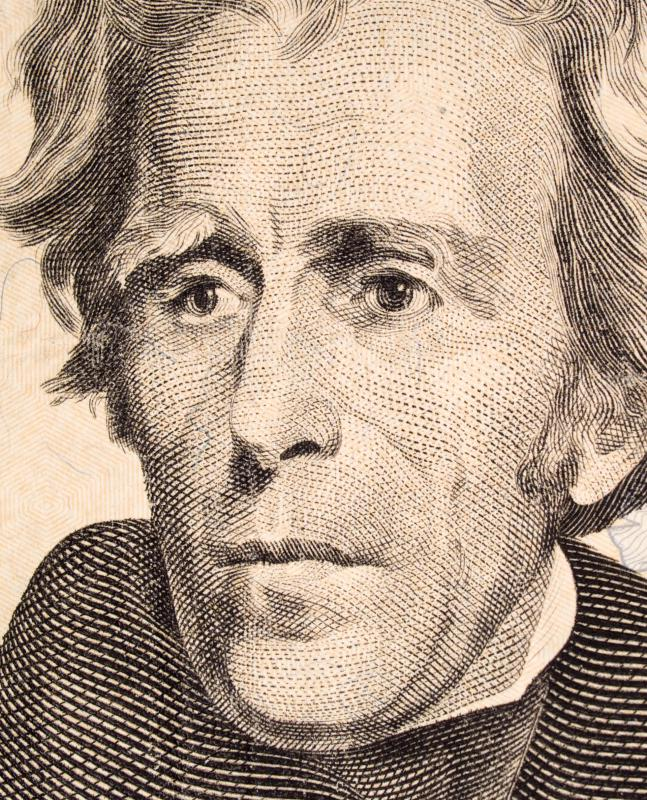 Before becoming president, Gen. Andrew Jackson led a group of volunteers from Tennessee against the British in the Battle of New Orleans in 1815.