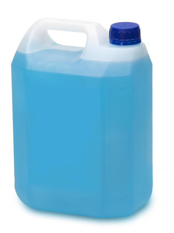 Ethylene glycol is present in antifreeze.