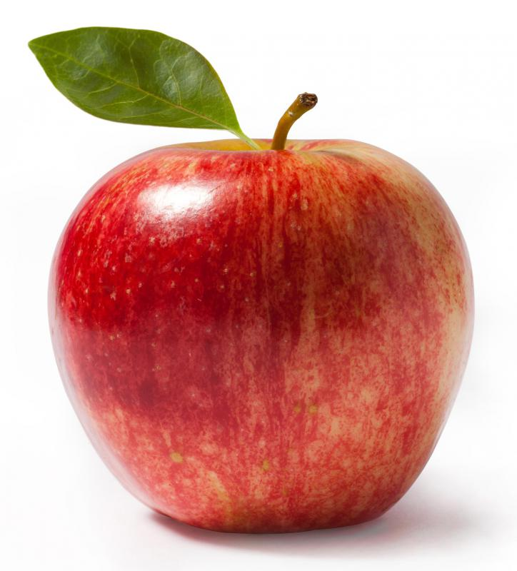 Sweet apples are often eaten during Passover.