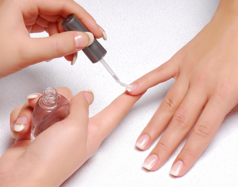 Salons offer manicures to patrons.