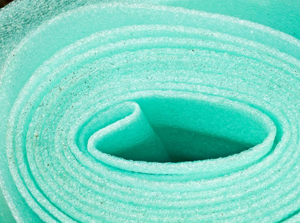 Polyethylene foam is sold in rolls and sheets.