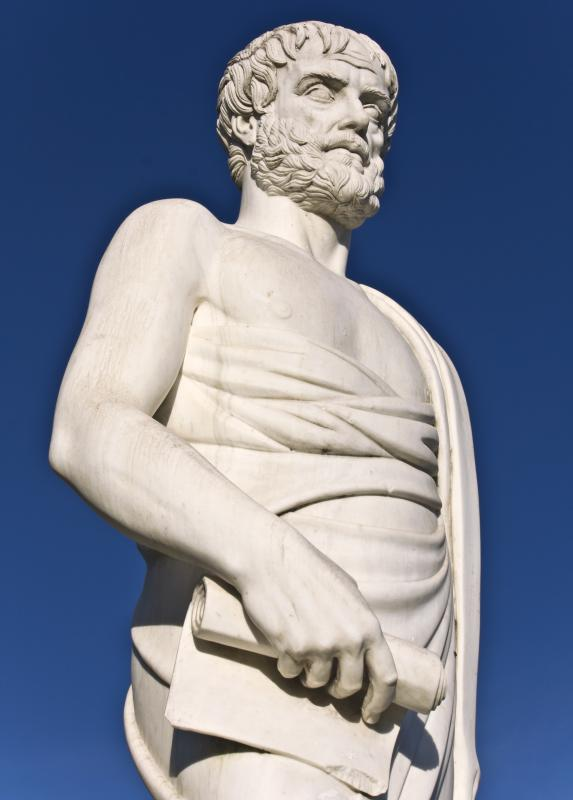 Because ancient philosophers like Aristotle considered logic, philosophy and logic are connected through historical proximity.