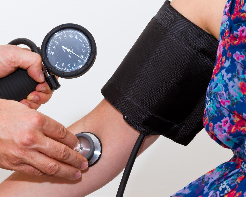 Low blood pressure may be a sign of zinc poisoning.