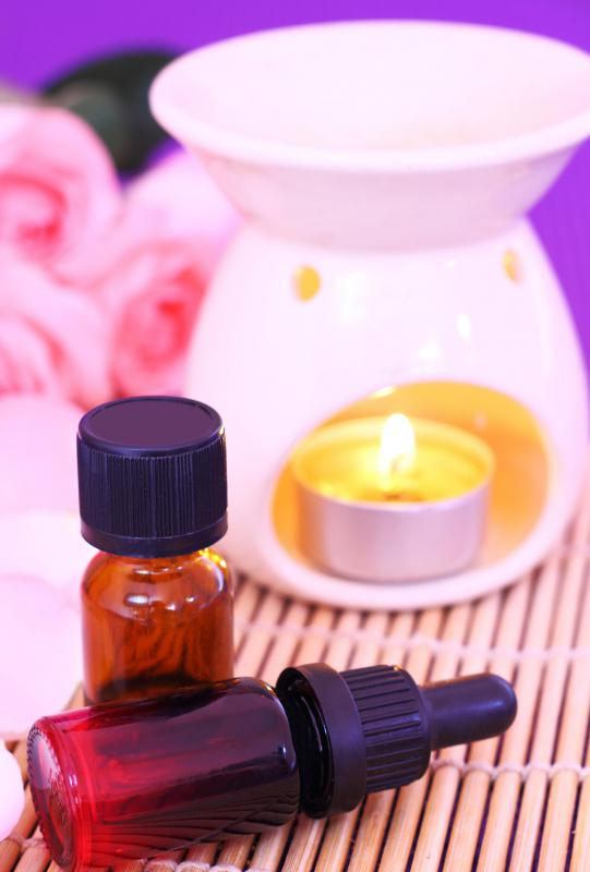 Aromatherapy falls under the category of holistic therapy.