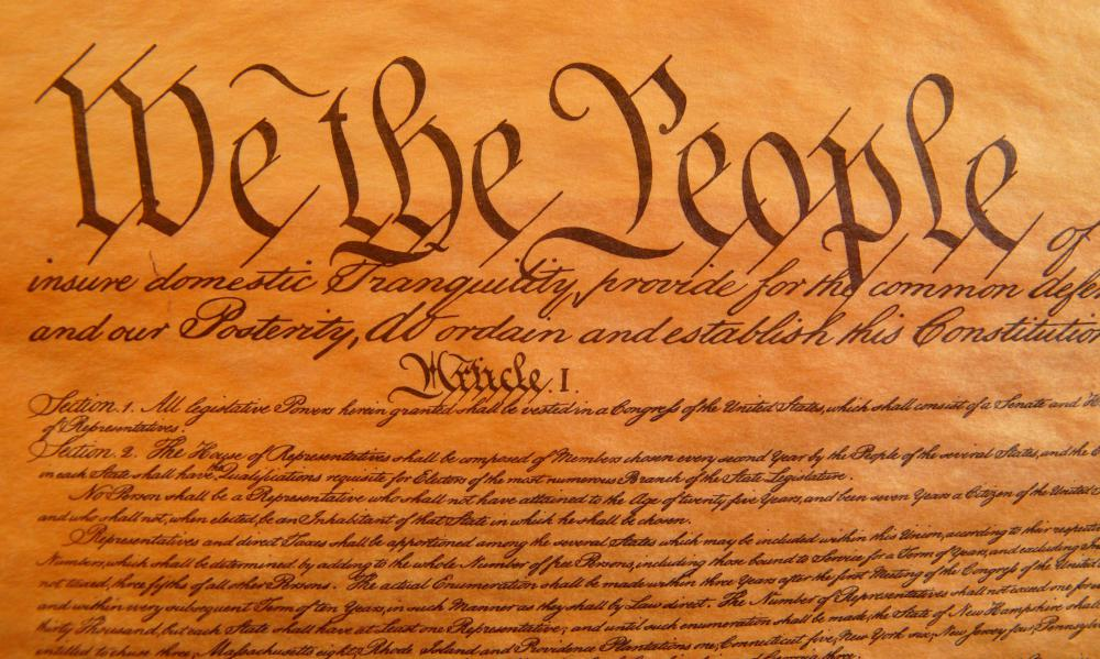 The judicial branch interprets laws and determines whether they are permitted by the Constitution.