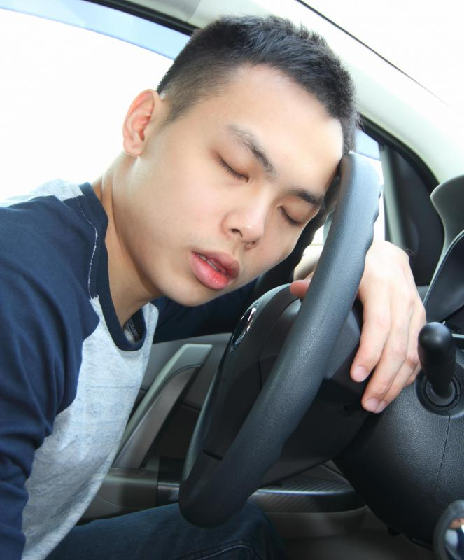 Some histamine blockers cause drowsiness and interfere with one's ability to drive a car.