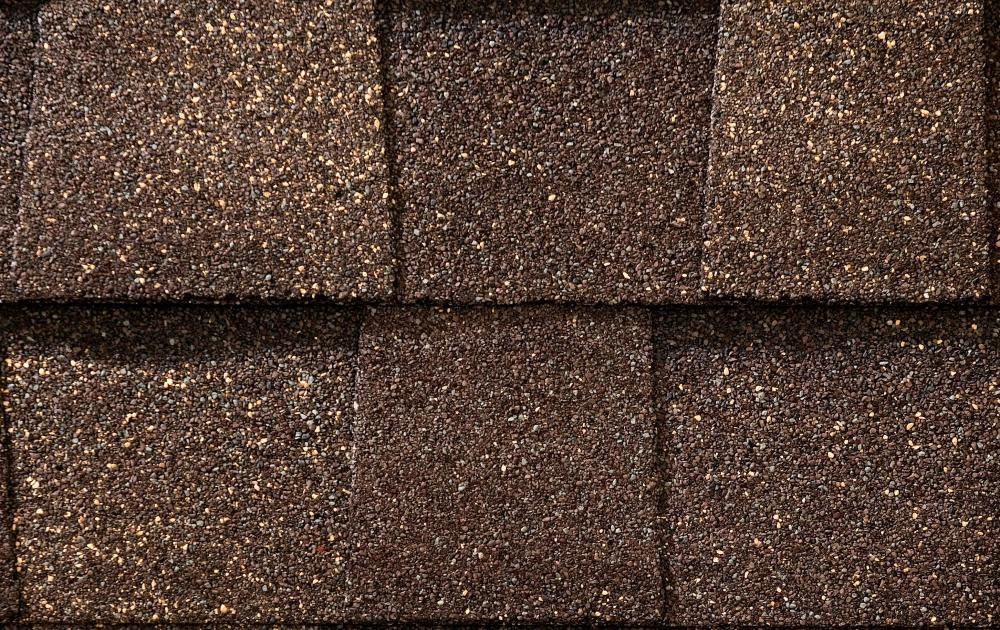 When asphalt is heated to a high temperature, it can be used to create asphalt shingles.