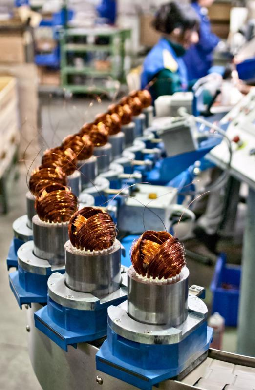 Production lines, or assembly lines, are efficient and quick ways to produce finished products while keeping overall costs lower.