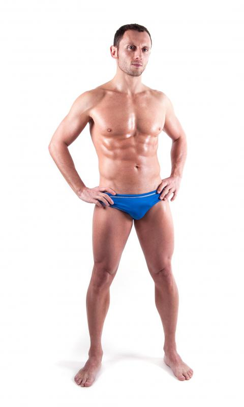 A mesomorph body type is seen as the ideal human body.