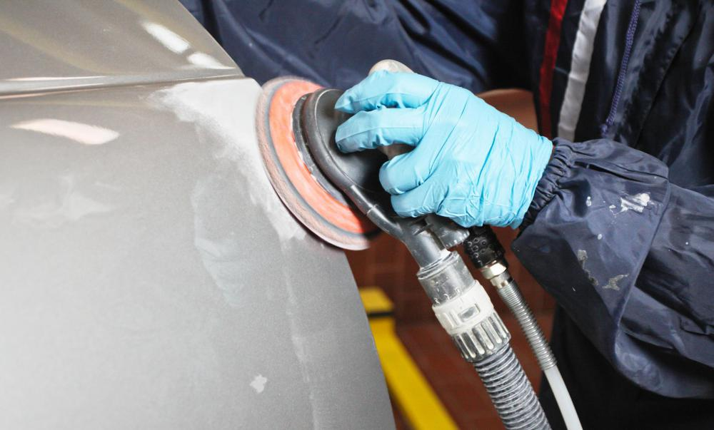 Skilled auto body repair workers can fix damage to fiberglass bodies of cars.