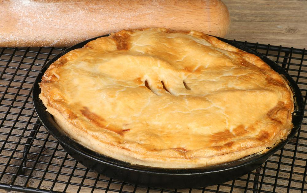 Apple pie is distinctly associated with Americana.