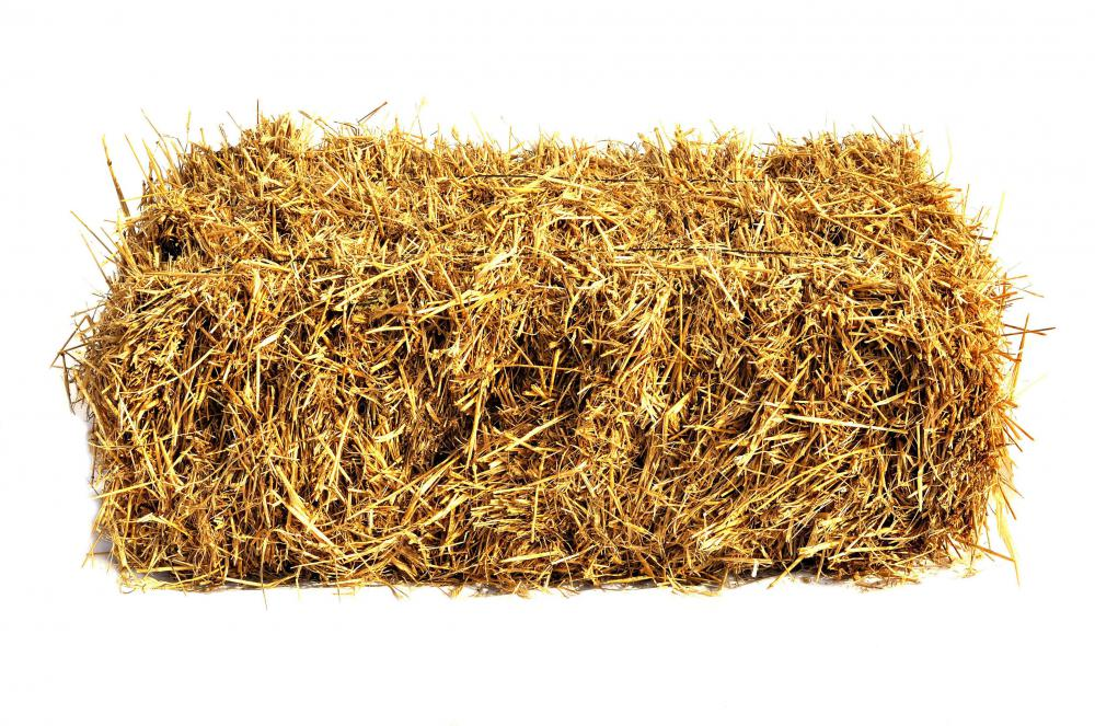 A bale of hay.