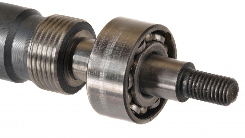 Many types of axle systems, such as those on bikes and vehicles, use ball bearings.
