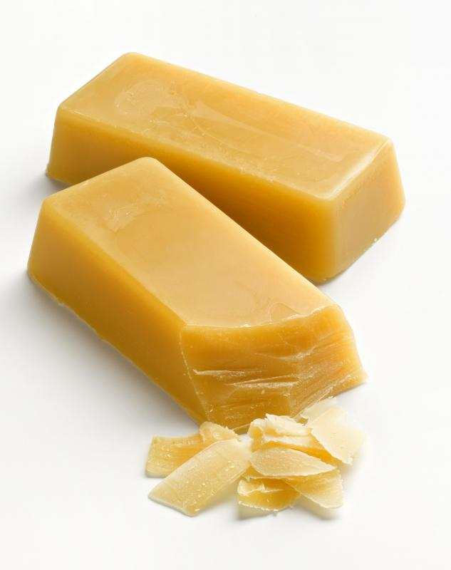 Beeswax is a natural ingredient used in some lip balms.