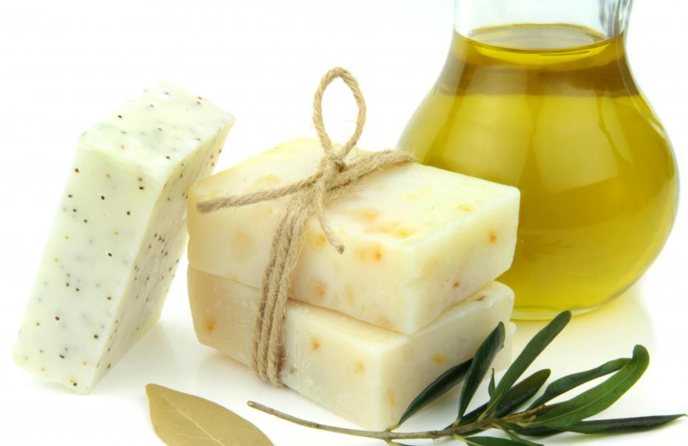 Glycerin is a natural by-product of soap made with lye.
