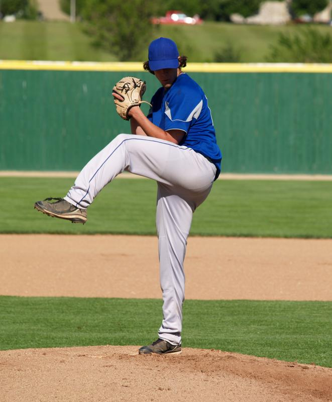 If a pitcher hits a batter with his pitch, that batter may advance to first base.