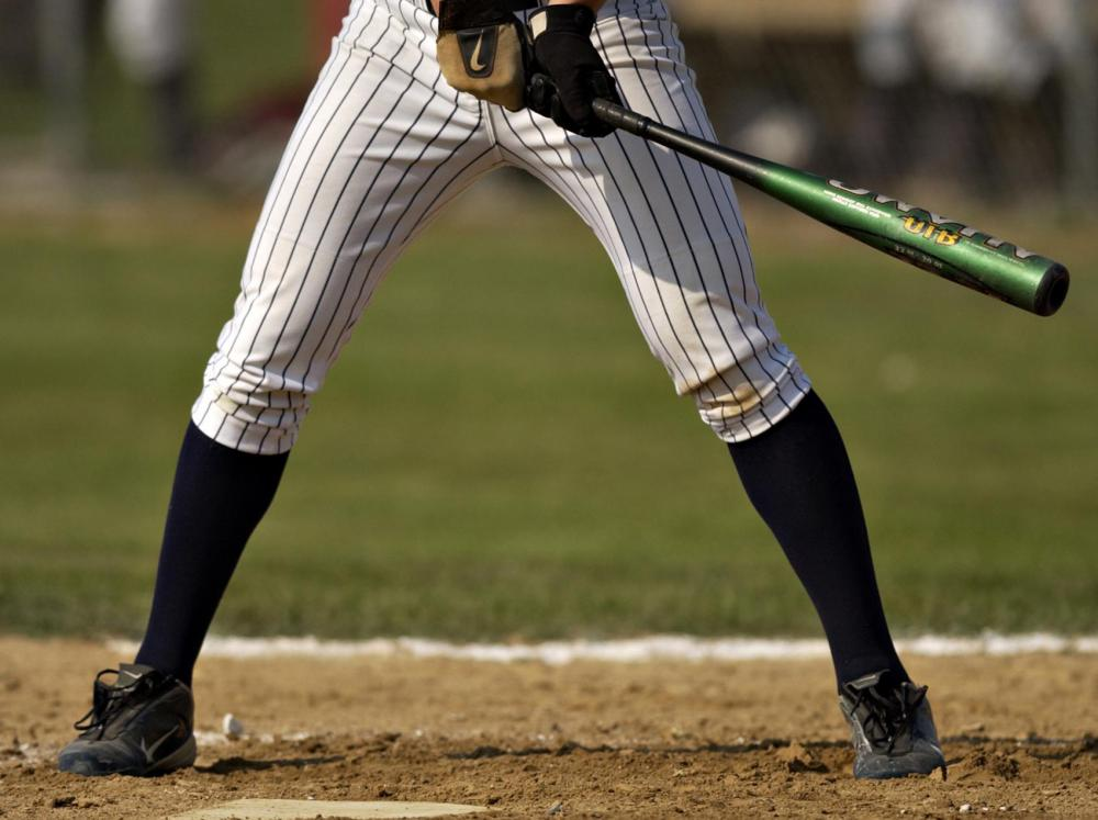 A designated hitter usually has a low batting average.