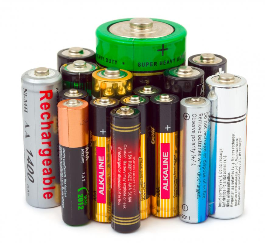 Batteries typically last longer when stored in a refrigerator.