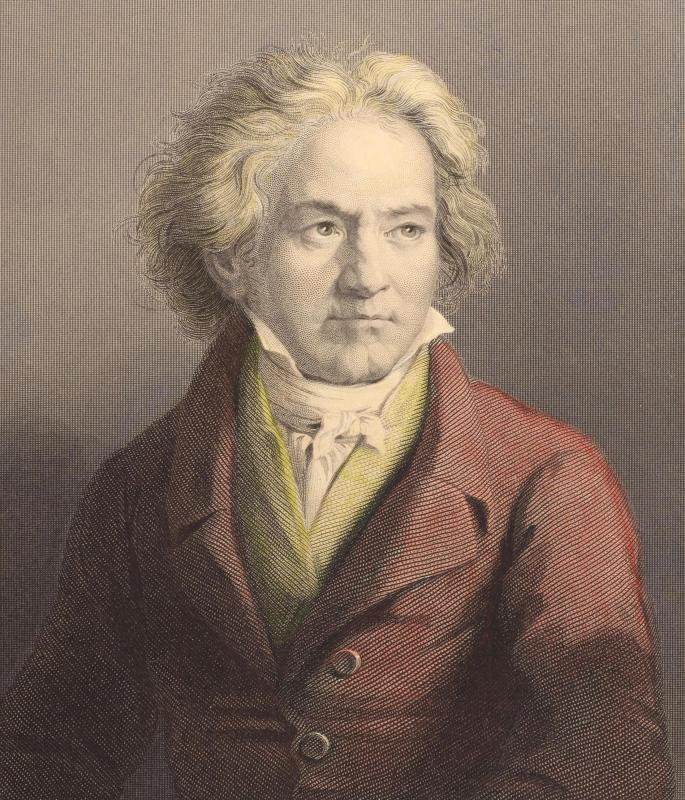 "Beethoven was thought to be ""crazy.""."