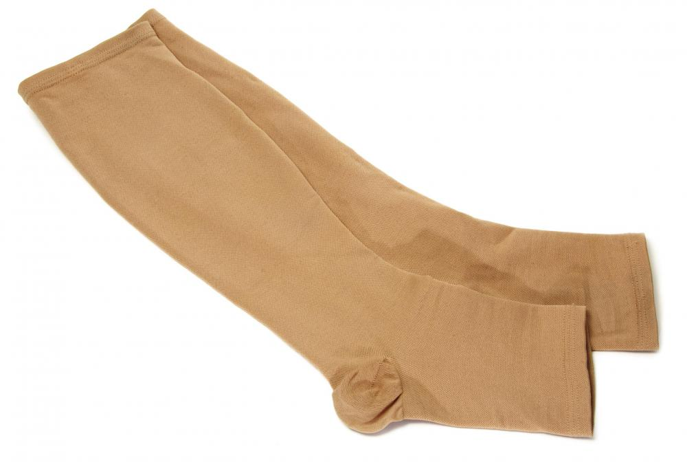 Compression stockings may reduce painful symptoms caused by varicose veins.