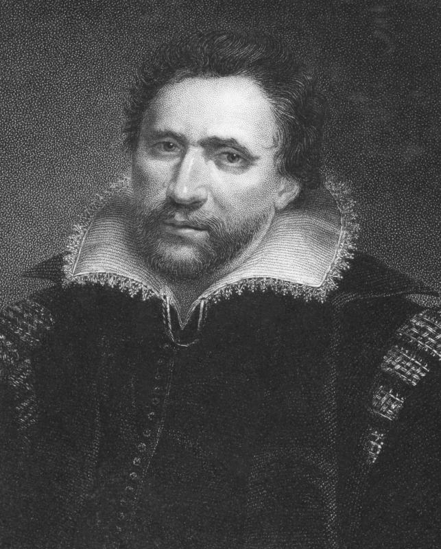 Ben Jonson, a product of the Elizabethan golden age, was England's first poet laureate.