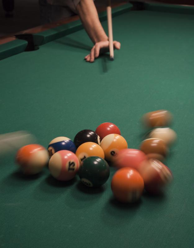 Phenolic resins are used to make billiard balls.