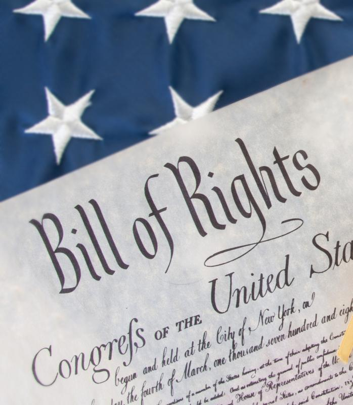 The Bill of Rights permits corporations to have certain forms of free speech.