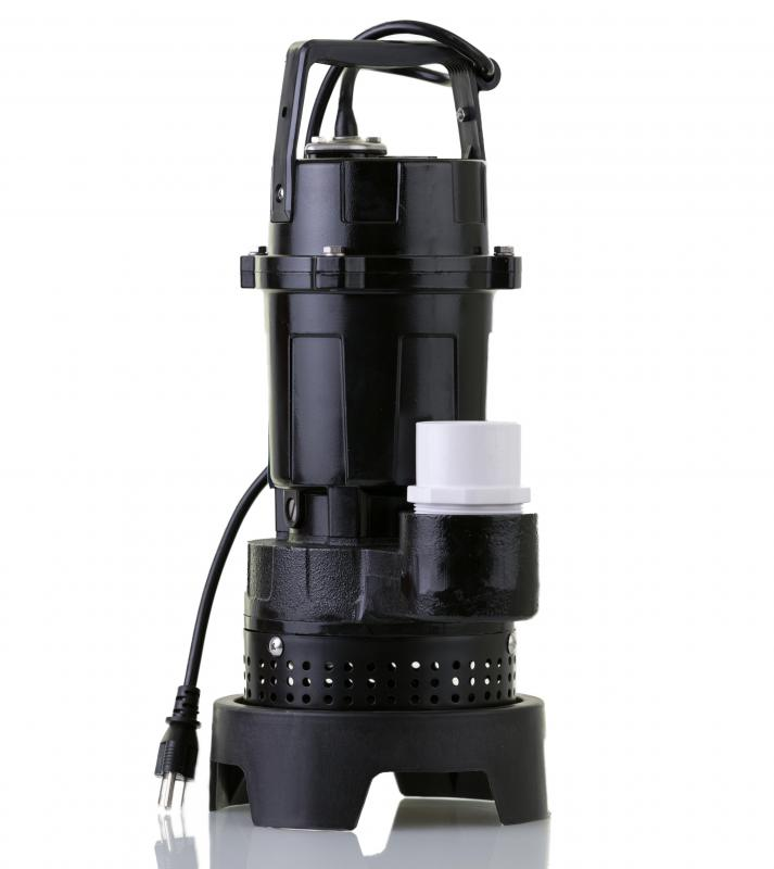 Sump pumps can be used to remove water from basements and other areas.