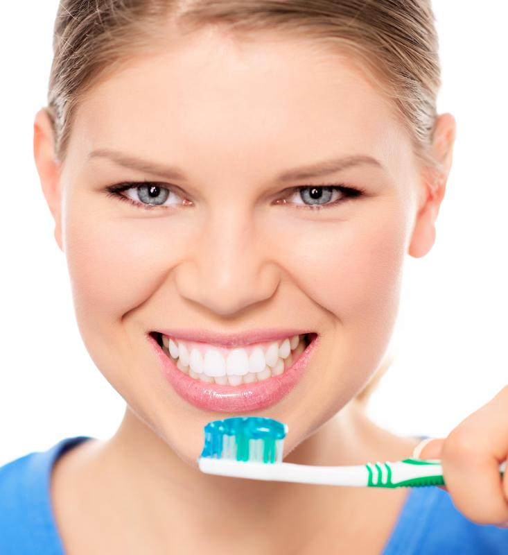 Small amounts of cetylpyridinium chloride are often found in oral products, such as toothpaste.