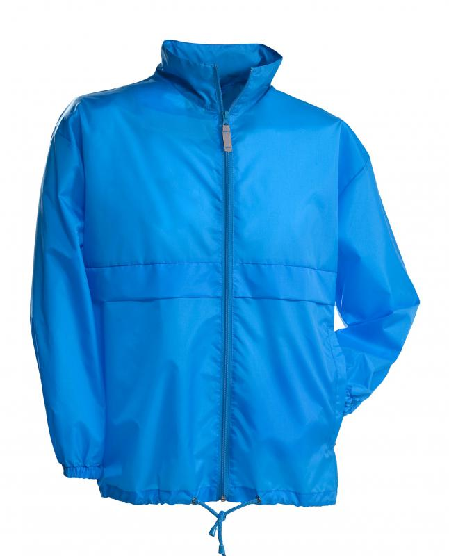 Windbreakers are typically waterproof and can be worn in the rain.