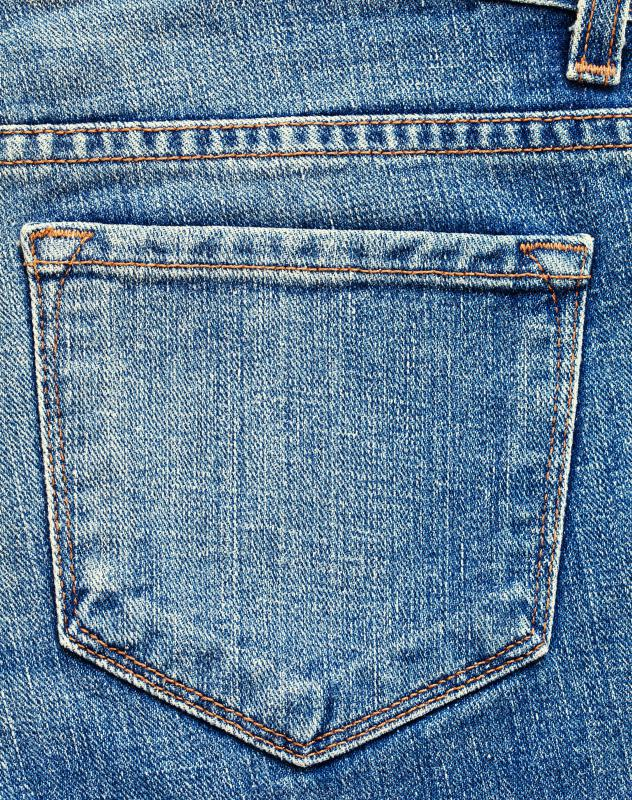 Blue jeans are comfortable, fashionable and easy to care for.