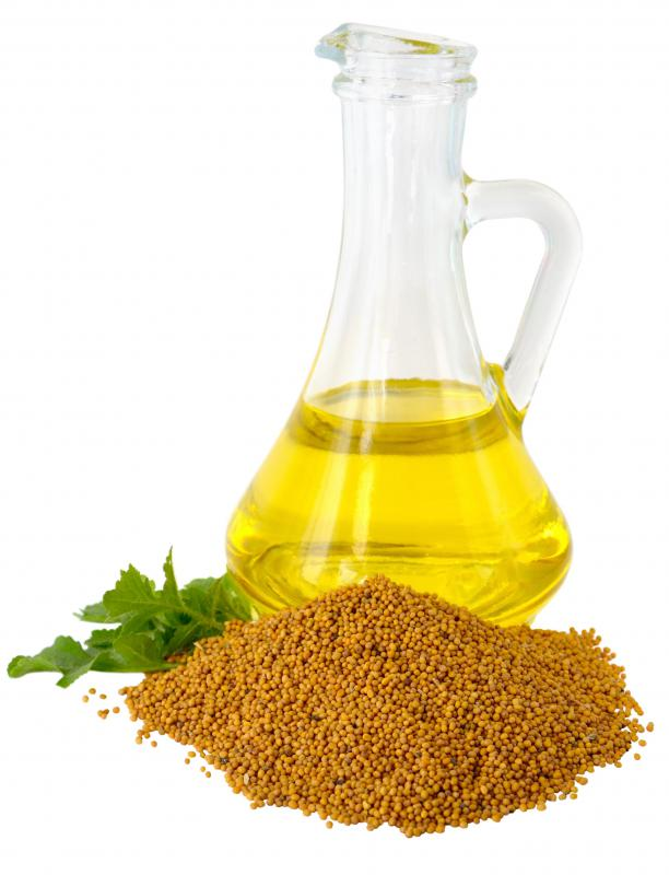 The European Union has banned the use of mustard oil in cooking products because of its high erucic acid content.