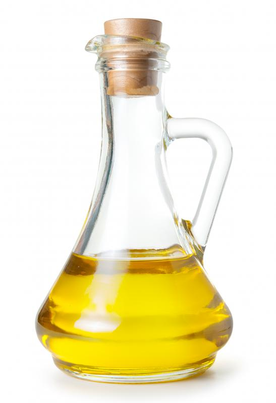 Olive oil, which can be used to make chrome shiny.
