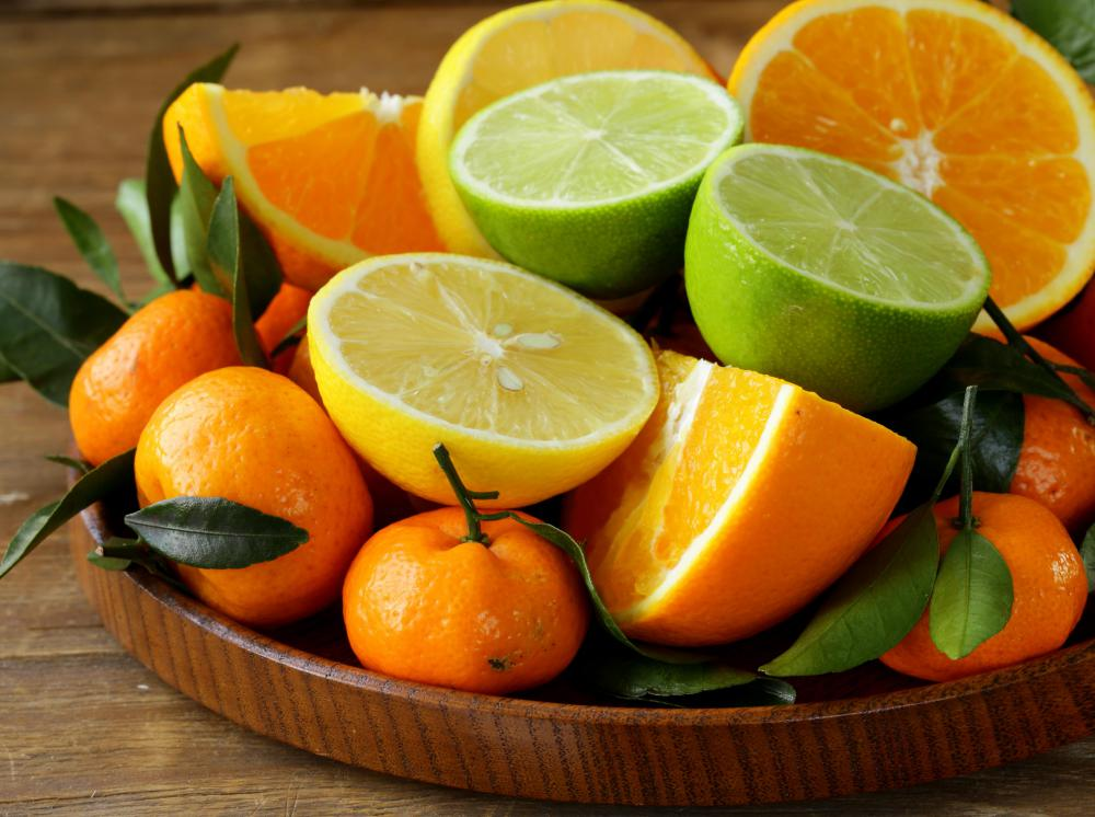 Oranges and other citrus fruits tend to be good sources of folate.