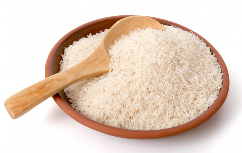 Bland foods like cooked rice are recommended for anyone who has ulcers.