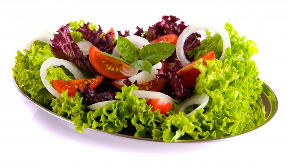 Fresh vegetables contain antioxidants, which help prevent damage from free radicals.