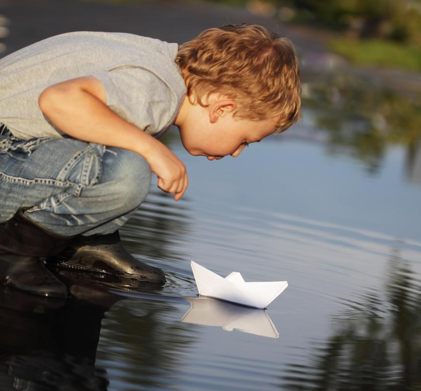 Origami was originally not a hobby for children due to the cost of the paper.