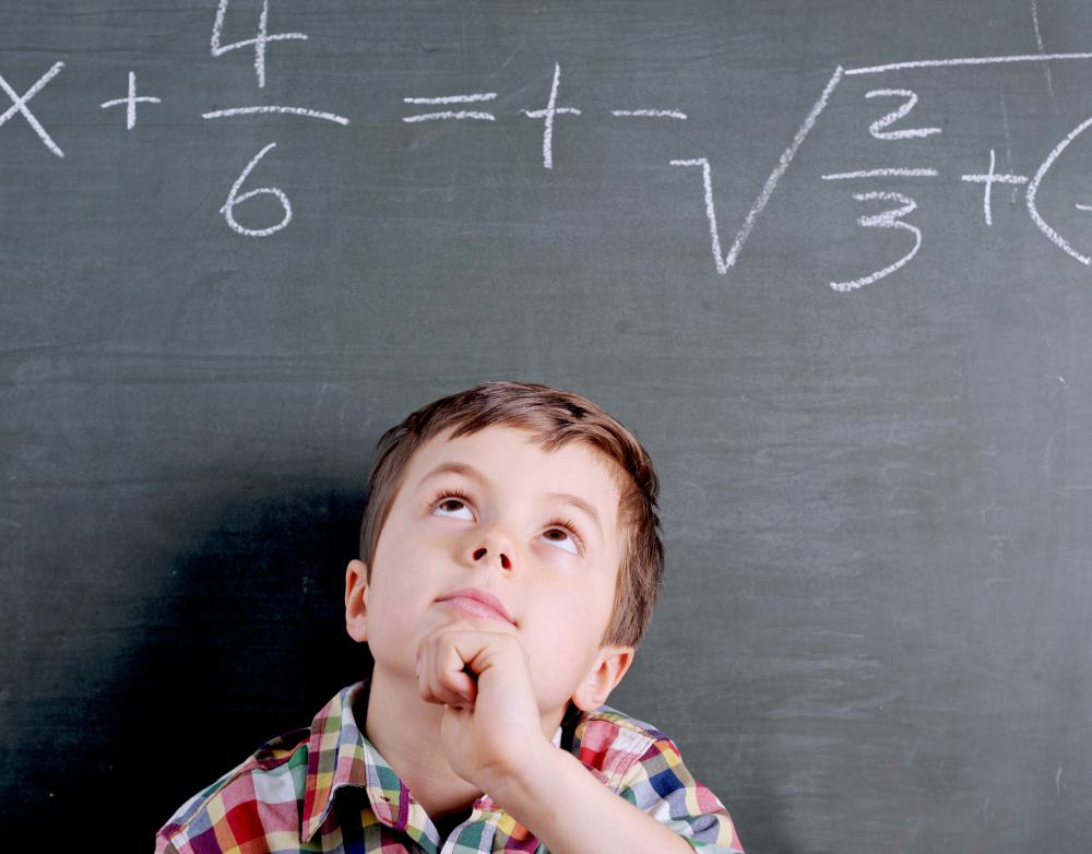 A whiz kid may be exceptionally gifted in math.