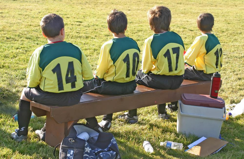 The rules and filed sizes of youth soccer leagues are sometimes amended to better serve their young participants.
