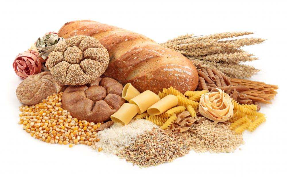 Grains are complex carbs.
