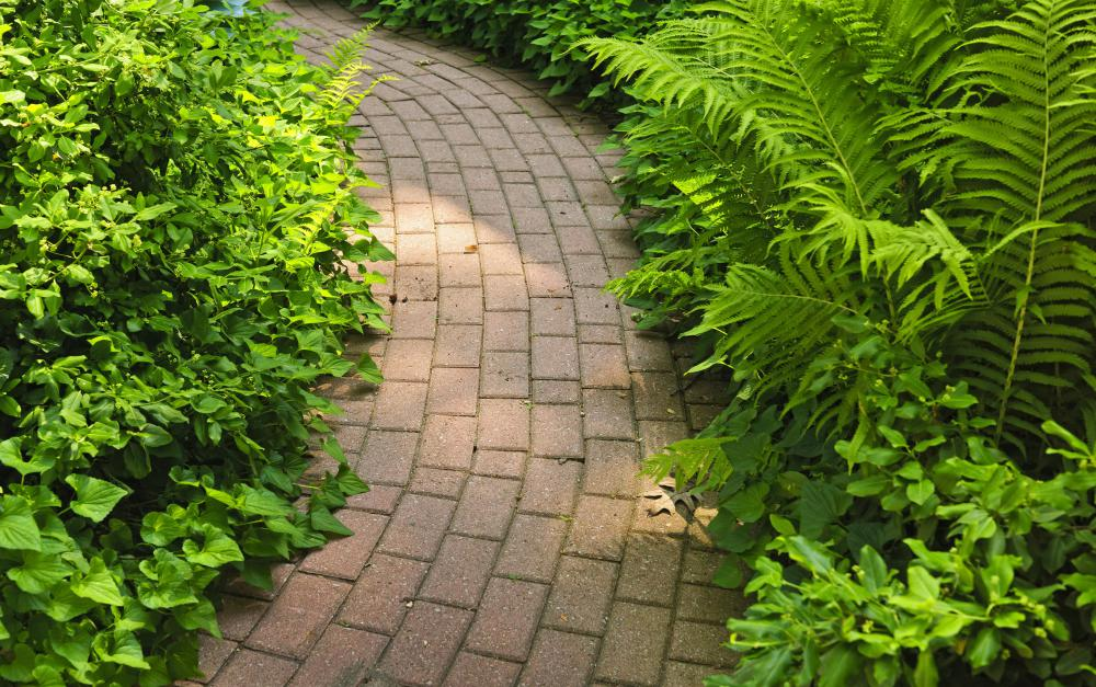 Brick pavers are attractive and extremely durable.